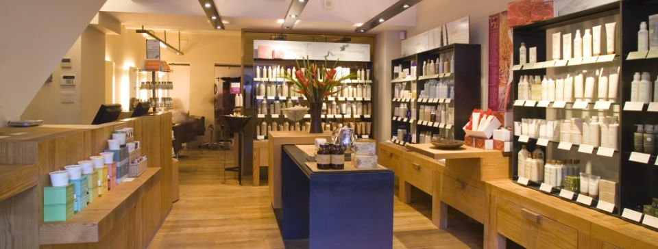 Guildfird Aveda Retail Store