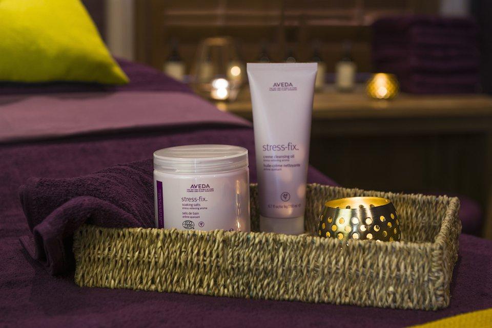 Aveda massage products