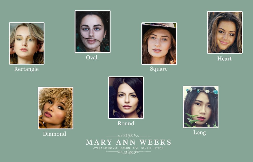 Whats The Best Haircut For My Face Shape Mary Ann Weeks