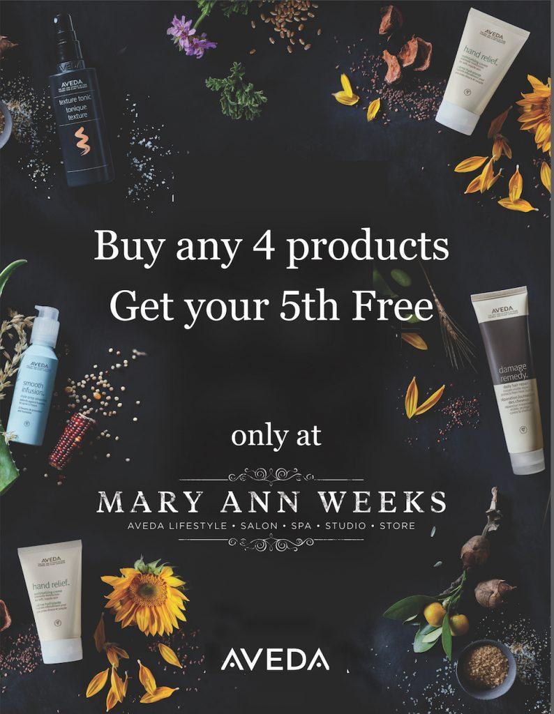 September offer buy 4 get 5th free