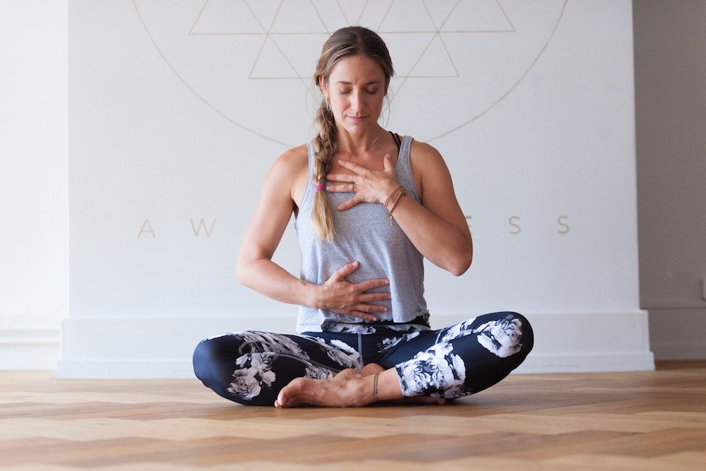 How to build core strength, build heat and cleanse with kapalabhati breath yoga mary ann weeks guildford studio