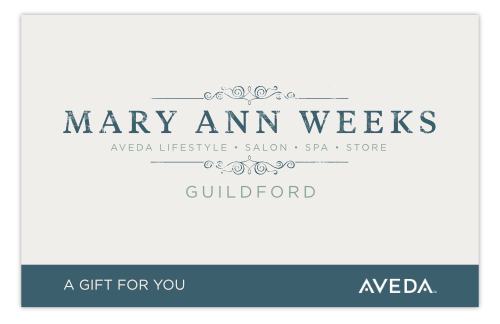 Guildford, Surrey, Aveda Salon and Spa Gift Voucher