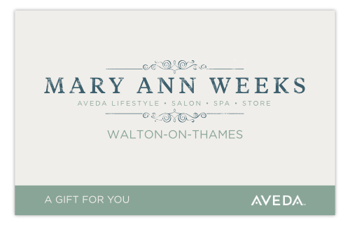 Walton on Thames, Surrey, Aveda Salon and Spa Gift Voucher