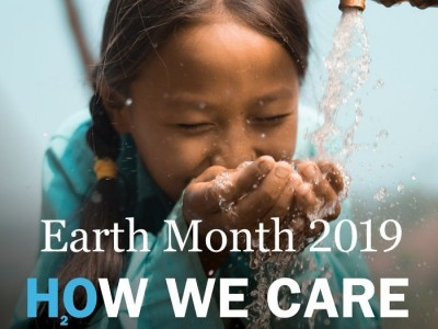 Earth Month 2019 – 3 Ways to Help us Raise Money for Charity Water!